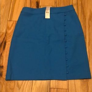 NWT Loft Blue Skirt